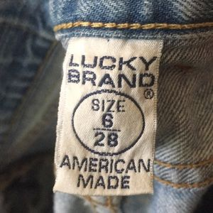 Lucky woman's jeans size 6/28 Lil Maggie Jean